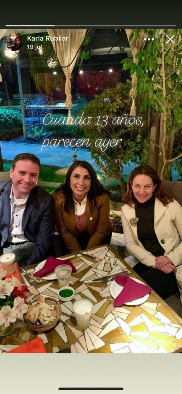 Experiodista de TVN mantiene relación con autoridad de Gobierno de Piñera