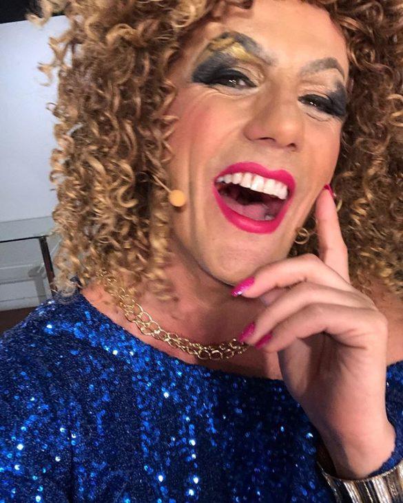 Sergio Lagos se atrevió con transformación Drag Queen