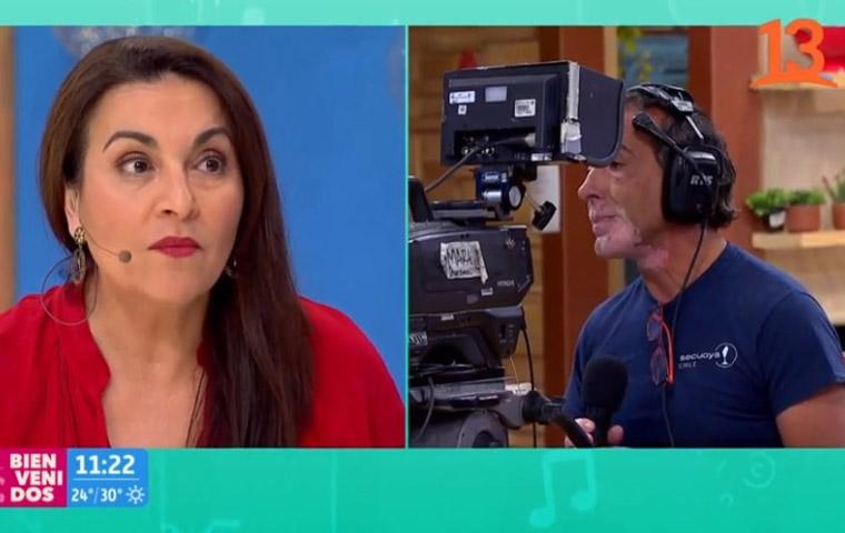 Lorene Prieto Bienvenidos Canal 13