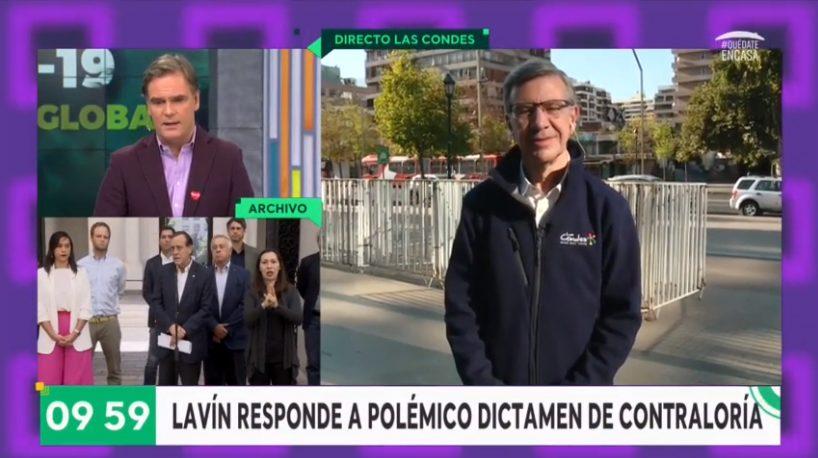 Lavín Contraloría matinales alcaldes