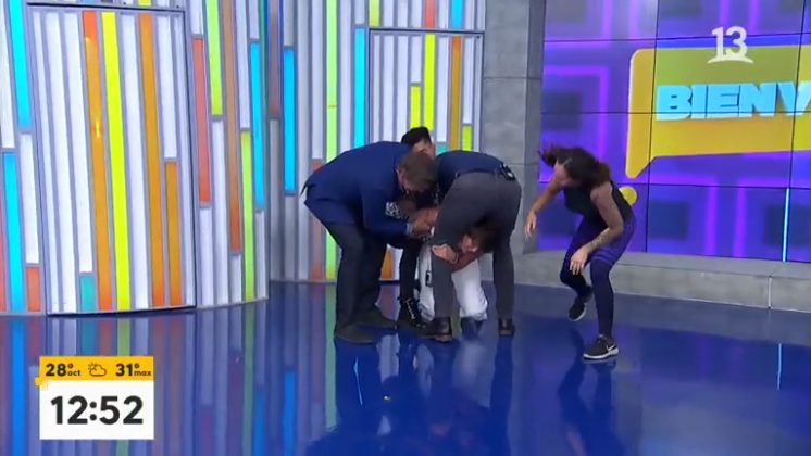 Tonka Tomicic Pancho Saavedra