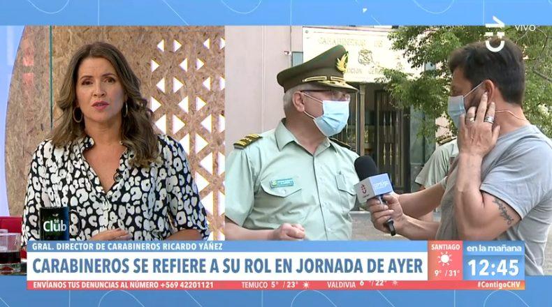 General Director de Carabineros - Contigo en La Mañana